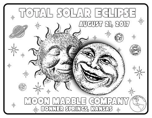 Eclipse Coloring Sheet