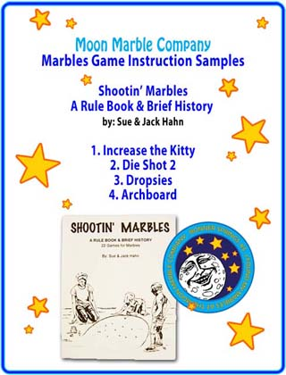 Sample Marble Games from Shootin Marbles Rule Book