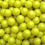 Opaque Yellow 17mm