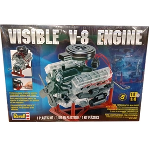 Visible V8 Engine Model Kit