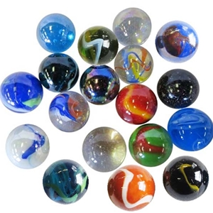 Assorted Jumbo Marbles