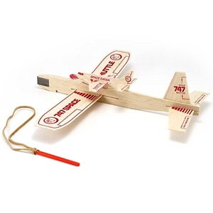 Catapult Glider Balsa Airplane