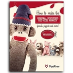 """How to Make the Original Rockford Red Heel Monkey: Friends, Puppets, and More!"" Pattern Book"