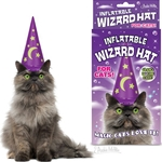 Inflatable Wizard Hat for Cats