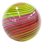 "Hot House Glass - ""Multi Colored Swirl"""