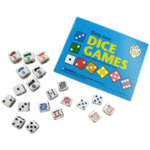 Sixty-two Dice Games