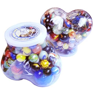 "The ""Butt Load"" aka ""Heart Full"" of Marbles"