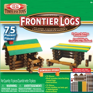 Frontier Logs - 75 piece set
