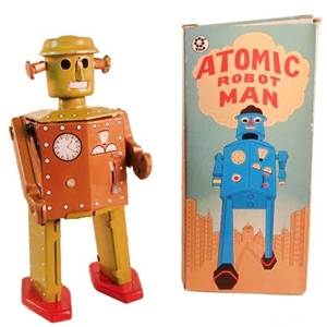 Atomic Robot Man