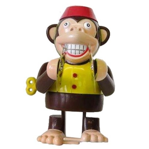 Monkey with Cymbals Wind-up