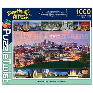 "Puzzle Twist ""Kansas City - City of Fountains"""