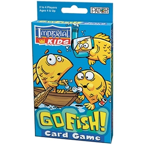 Go fish for Fish card game