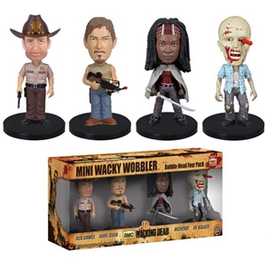 The Walking Dead Mini Wacky Wobbler Set