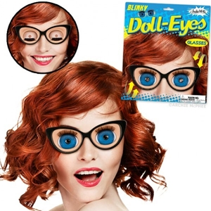 Blinky Doll Eyes Glasses