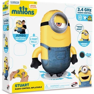 Jumbo Inflatable Remote Control Minion Stuart