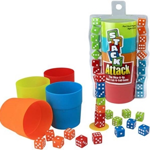 Stack Attack Matching Numbers Game