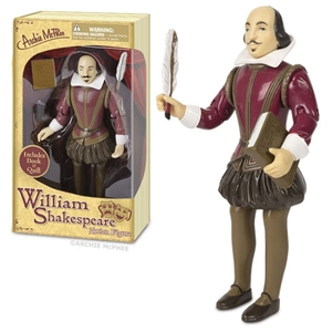 William Shakespeare Action Figure