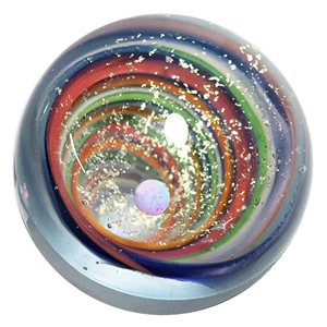 "Aaron West - ""Frosted Vortex with UFO Opal"""