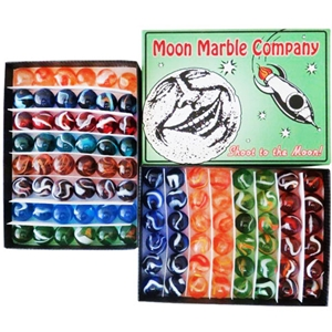 Moon Marble Company Lt. Green Box
