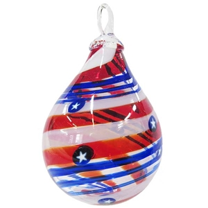 Liberty Raindrop Artisan Series Ornament