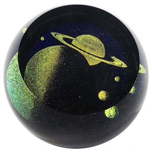 "Glass Eye Studio Paperweight - ""A Star is Born"""