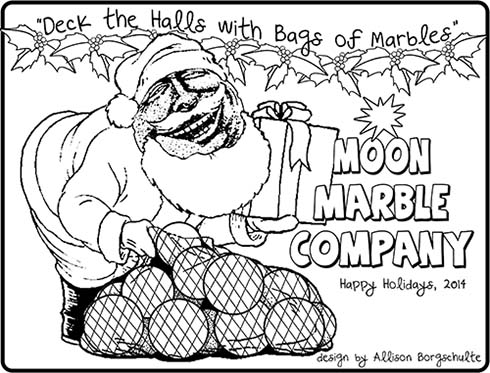 Holiday Coloring Page 2014
