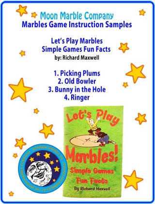 Sample Marble Games from Let's Play Marbles Rule Book