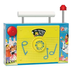 Fisher Price TV Radio