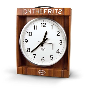 On The Fritz Wall Clock