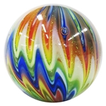 "Eddie Seese and Sammy Hogue Collaboration - ""Rainbow Flamed Martble"""