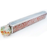 "Allison Borgschulte Kaleidoscope & Dick Wentzel marble - ""Latticino Twist-Up Rectangular Scope"""