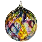Rainbow Diamond Facet Classic Ornament