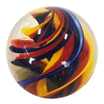"Joshuah Justice - ""Primary UV Spiral Marble"""