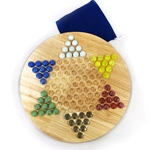 Chinese Checkers - Mahogany