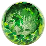 "Glass Eye Studio Paperweight - ""Inferno"""
