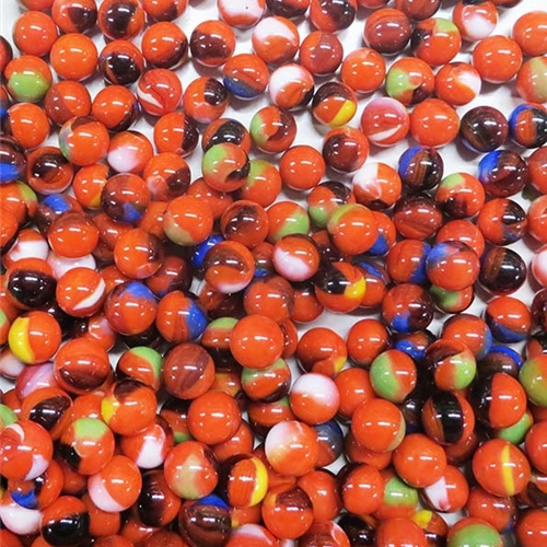 """13mm // 1//2/"""" OR SMALLER 10 x DRAGON PeeWee Glass Marbles NEW"""