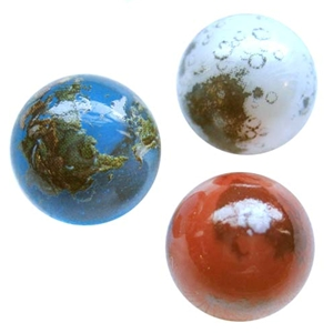 PeeWee Earth, Moon, and Mars set