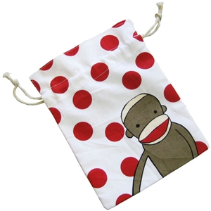 Sock Monkey Pouch