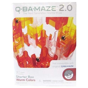Q-BA MAZE - Starter Box Warm Colors