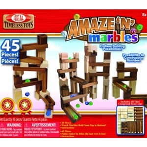 Amaze-N-Marbles Run 45 pc Set