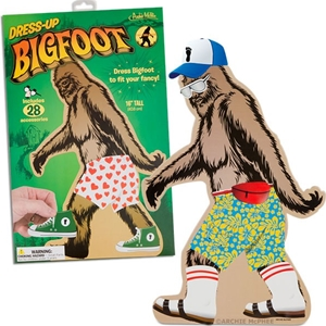 Dress-Up Bigfoot