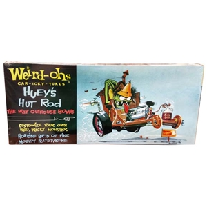 "Weird-Ohs ""Huey's Hut Rod"" Model Kit"