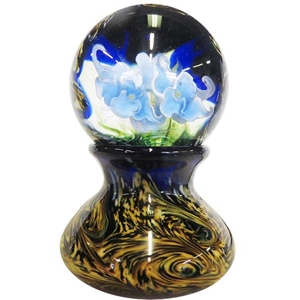 "David Salazar - Large ""Van Gogh Floral Marble with Base"""