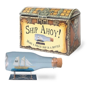 Ship Ahoy! Ship in a Bottle Kit