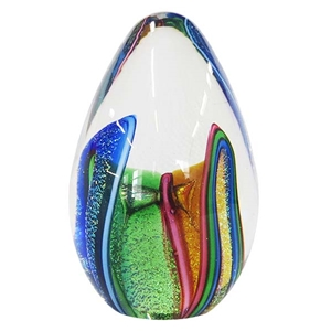 Dicro Folded Ribbon Egg Weight