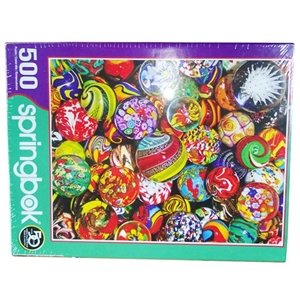 Marble Madness 500 Piece Jigsaw Puzzle