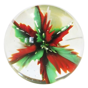 "Nicholas Schmidt - ""Red and Green Botanical Marble"""