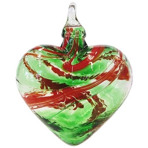 Mistletoe Heart Ornament