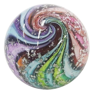"Fritz Lauenstein - ""Rainbow Twistback Swirl with Mica"""