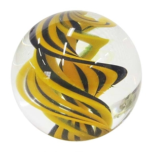 "Joshuah Justice - ""Bee UV Spiral Marble"""